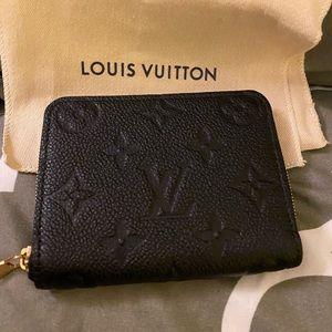 Louis Vuitton empreinte zippy wallet NEW